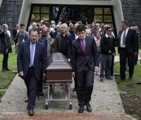 Honras fúnebres Héctor Ulloa