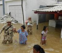 Inundaciones en La Guajira