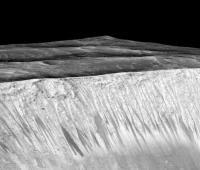 Agua en Marte.
