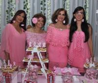 Mirtza Caballero, Irma Sojo, Luz Marina Vera y Milena Vera.