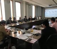 Reunión de Ocad donde aprovaron los recursos para el puente de Valencia.