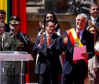 Alcalde de la ciudad de Bogotá Enrique Peñalosa.
