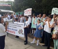 Protesta del Colegio Inem