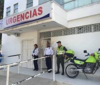 Fachada de centro de urgencias de la ESE Cartagena.