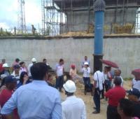Comunidad visita obras