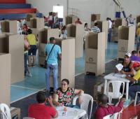 Votaciones en Cartagena