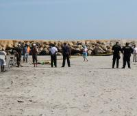 Joven se ahogó en las playas de Crespo, en zona prohibida para bañistas.