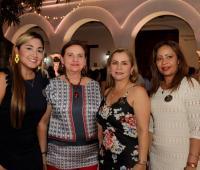 Ana Milena Camargo, Estela Barreto Álvarez, Alexa Castro Durango y Lucy Prieto.