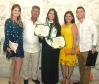 Anyelina Arias García, Eduardo Arias Durán, Laura Arias Garcia, Nubia García Ariza y Juan Pablo Botero.