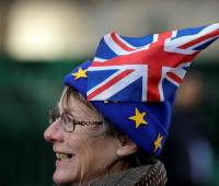 Activista contra el brexit