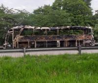 Eln quema bus en el Cesar, en el que iban niños con discapacidades. Los niños salieron ilesos. Iban a representar a Bolívar en unas justas en Cúcuta.
