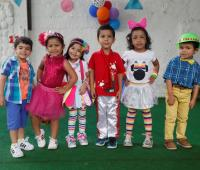 Emiliano Salazar, Elena Sofía Rojas, Ivanna Cruz, Joaquín Alejandro Hernández, Juliana Olier Cabarcas y Andrés Felipe Otero.