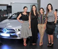 Estefany Ochoa, Carolina Yidios, Ana Carolina Quintana y Jennifer Torres.