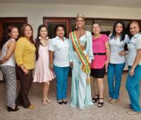 Duván Peña, Geraldine Martínez, María José Hernámdez, Allison Vega, Marolys Díaz y Kathleen Romero.