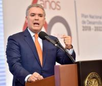 Ivan Duque, presidente de Colombia.
