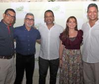 Jaír Ariza, Vicente Gutiérrez, Héctor Anaya, Paola Geney y Hernando Muñoz.