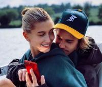 Justin Bieber y la modelo Hailey Baldwin