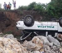 Accidente de tránsito.