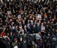 Periodistas rinden honor a Jamal  Khashoggi