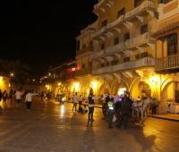 Plaza de los Coches en Cartagena de Indias.