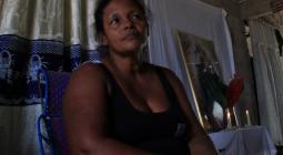 Iris Arrieta, madre de Jaider Pájaro Arrieta, asesinado en Arjona.