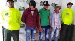 Tres trabajadores de una finca en El Carmen de Bolívar capturados porque habrían robado ganado en ese predio.