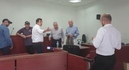 Audiencia que se cumplió en el Centro de Servicios Judiciales de la capital del Atlántico.