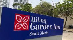 Hilton Garden Inn Santa Marta.
