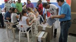 Lista la logística y organización para elecciones del domingo próximo en Sincelejo.