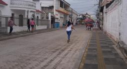 Calle 20, en la ciudad de Sincelejo.
