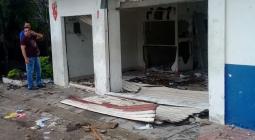 La sede de La Apartada fue destruida.