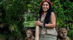 poeta indígena