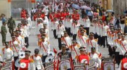 Desfile de independencia en el Centro Histórico.
