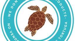 Sello para venta de artesanías libres de caparazón de tortuga