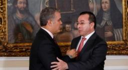 Iván Duque y Carlos Mario Estrada