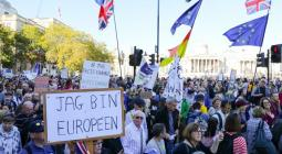 Protesta por el Brexit
