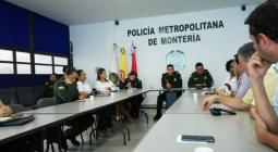 reunión de autoridades de montería