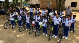 Donación bicicletas