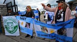 Familiares de los submarinistas del Ara San Juan