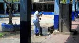 Aseadora en IE San Felipe Neri