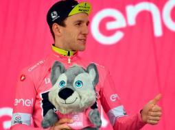 Simon Yates, Mitchelton-Scott, líder del Giro de Italia 2018