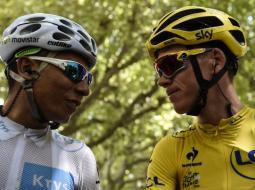 Nairo vs Froome, en el Tour de Francia.