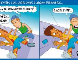 Emmanuel Vidal caricatura