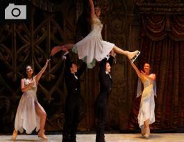 El Ballet de Moscú durante su presentación en Centro de Convenciones  Cartagena