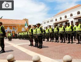 NUEVOS POLICÍAS PARA CARTAGENA EN FIESTAS DE INDEPENDENCIA.