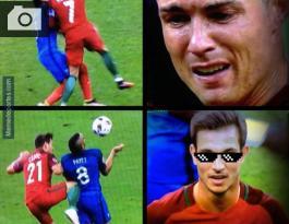 memes que dejó el llanto de Cristiano Ronaldo y la victoria de Portugal EUROCOPA 2016