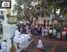 Celebración de la Virgen del Carmen.