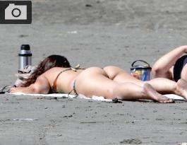 Playa en año nuevo 2012