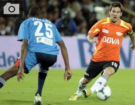 Lionel Messi y Jhon Viáfara