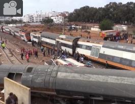 Tren accidentado